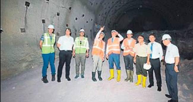 Honaz tünelleri 2018'de açılacak