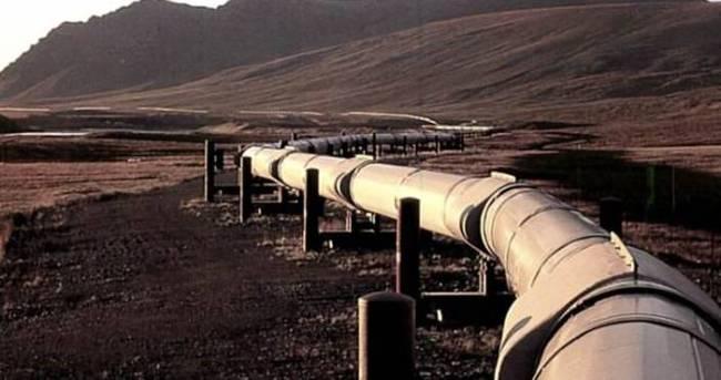 Çin'de doğalgaz boru hattında yangın