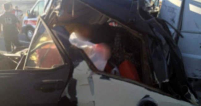 Gaziantep'te feci kaza: 2 ölü!