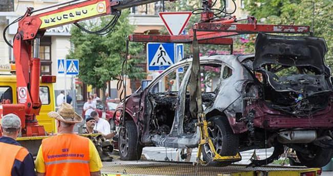 Ukrayna'da gazeteci bombalı saldırıda öldü