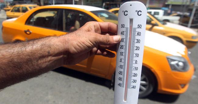Sıcaklık 50 dereceyi buldu