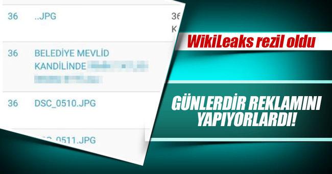 WikiLeaks alay konusu oldu