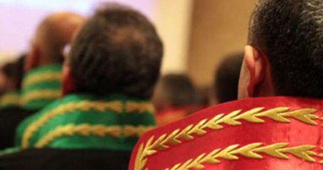 Yüksek yargı üyelerine tutuklama