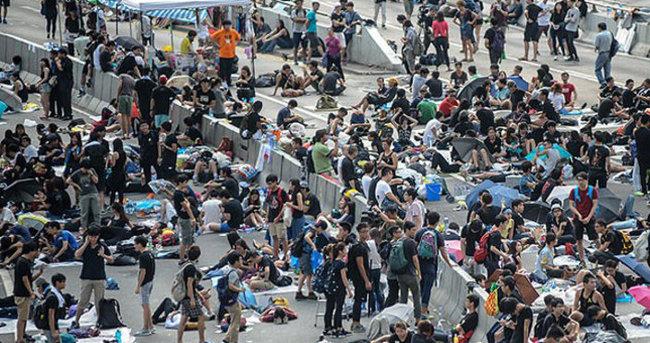 Hong Kong'da 2014'teki hükümet karşıtı gösteriler