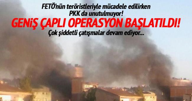 Diyarbakır'da operasyon sürüyor