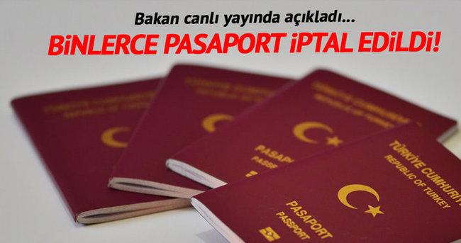 Efkan Ala: 10856 kamu çalışanının pasaportu iptal edildi