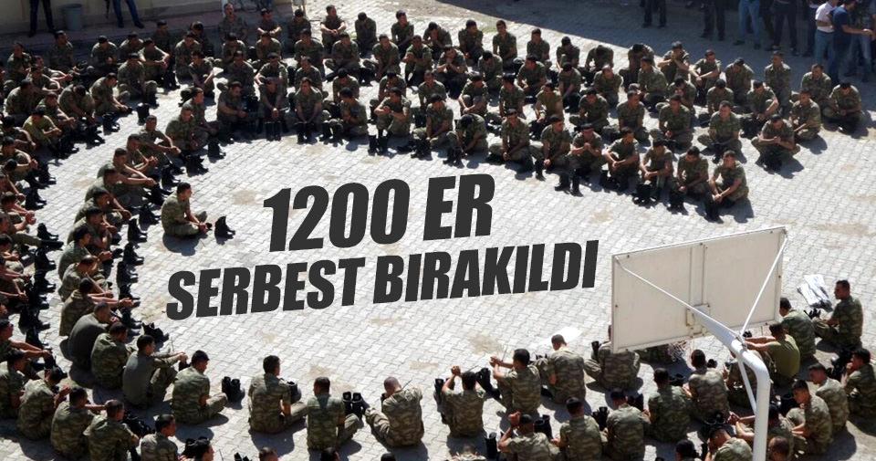 Ankara'da 1200 er serbest bırakıldı