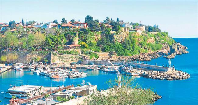 Antalya'nın keyif haritası