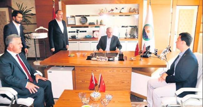 Başbakan Yıldırım'dan Gölbaşı'na ziyaret