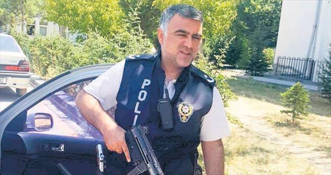 Füzelere engel olan Kahraman polis
