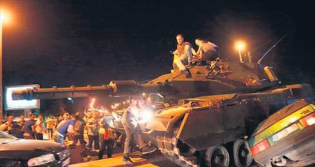 Tankın ezdiği kadın yaşam savaşı veriyor
