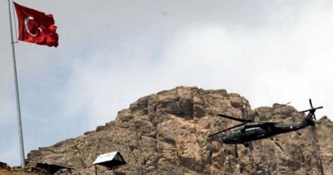 Hakkari'de, PKK tarafından 4 askeri üsse eş zamanlı saldırı düzenlendi