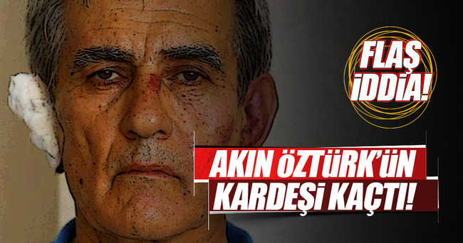 Öztürk'ün profesör kardeşi kaçtı