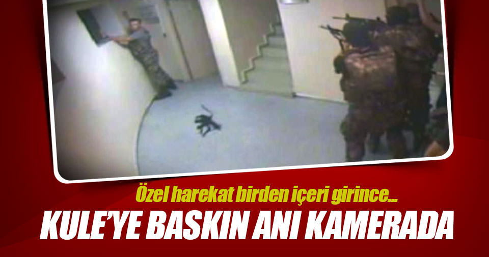Atatürk Havalimanı'nda kuleye baskın anı kamerada