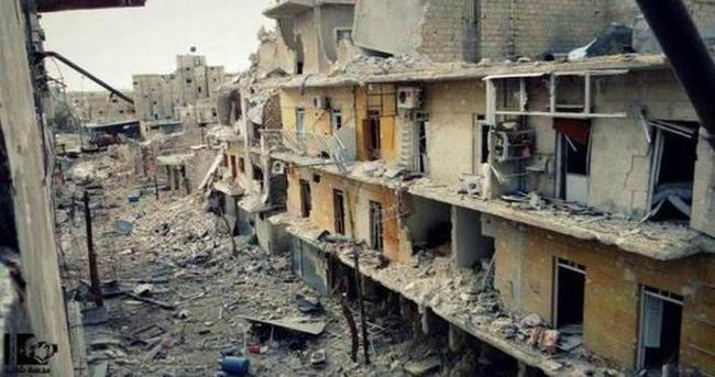 Rus uçakları Halep'te sivilleri vurdu