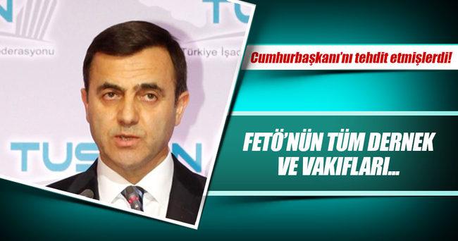 Cumhurbaşkanı Erdoğan'ı tehdit eden FETÖ'CÜ TUSKON tarih oldu