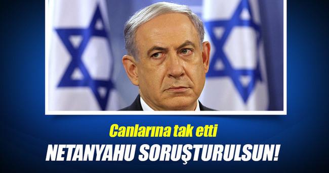 İsrailli aileler: Netanyahu soruşturulsun