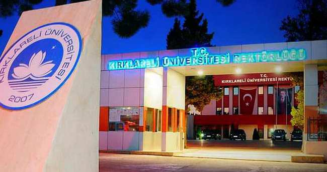 Kırklareli Üniversitesi'nde 5 akademisyen gözaltına alındı