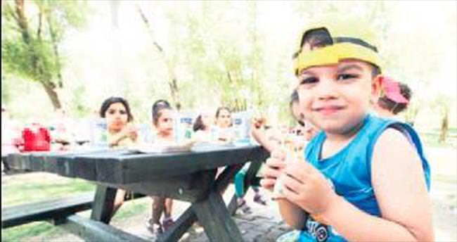 Minikler Yakacık'ta piknik yaptı