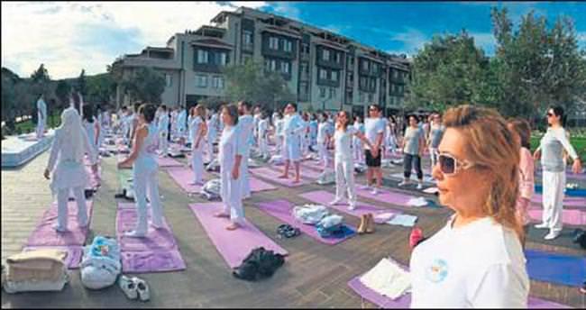 Kazdağları'nda yoga festivali heyecanı