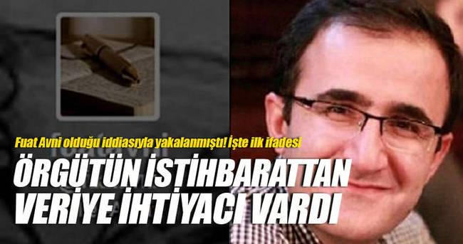 Fuat Avni olduğu iddiasıyla yakalanmıştı! İşte ilk ifadesi