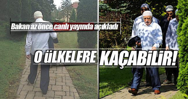 Bakan Bozdağ: Gülen her an kaçabilir