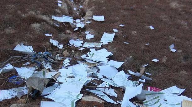 Çöp konteynerinde FETÖ kitapları bulundu!