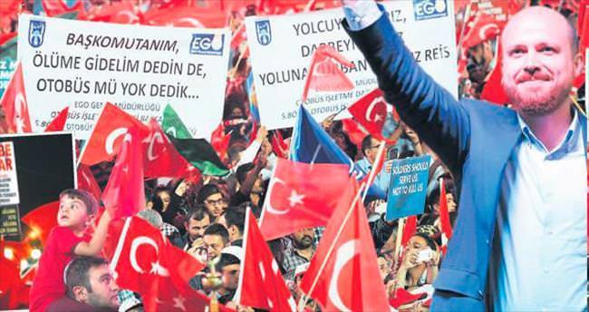 Bilal Erdoğan, Kızılay coşkusuna ortak oldu