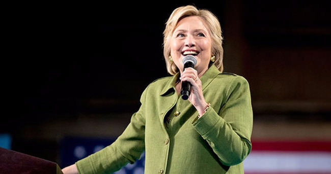 ABD'nin ilk kadın başkan adayı Hillary Clinton