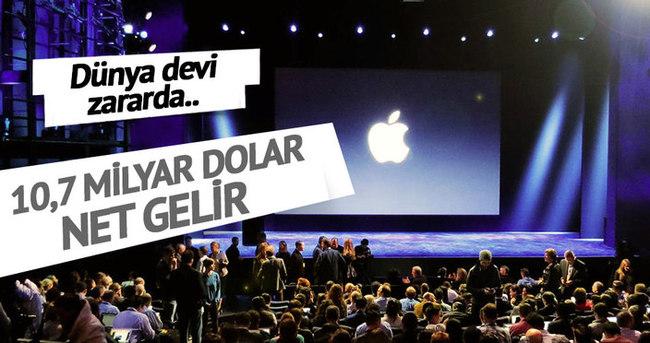 Apple zararda