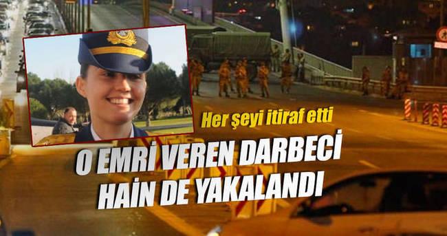Köprüye saldırı talimatını veren albay yakalandı