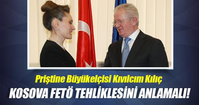 Kosova makamları da FETÖ tehlikesini anlamalı