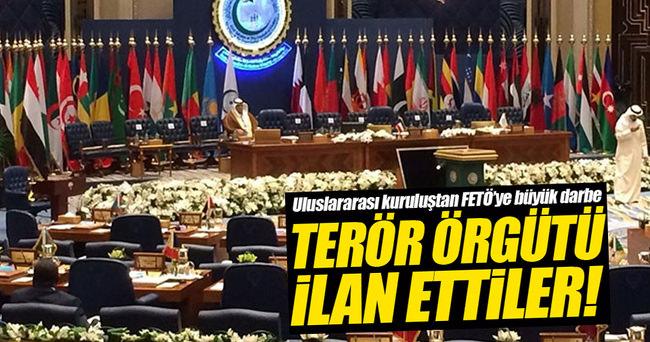 İİT FETÖ'yü terör örgütü ilan etti