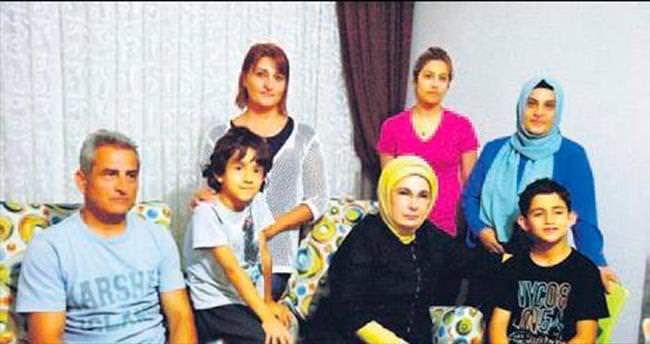 Emine Erdoğan şehit ailesini ziyaret etti