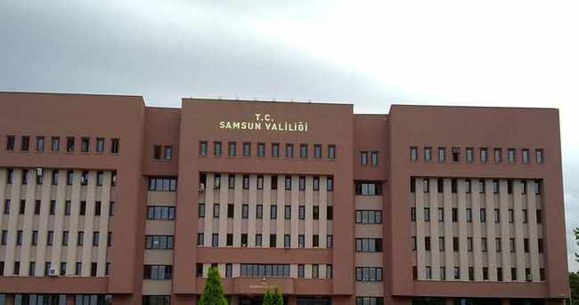 Samsun'da bin 186 kişi açığa alındı!