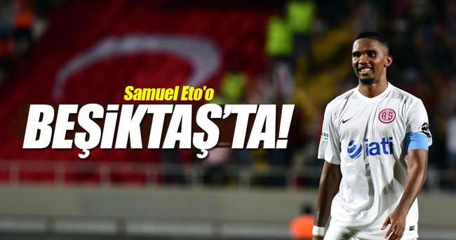 Beşiktaş Eto'o ile anlaştı!