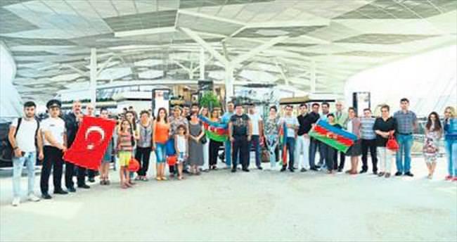 Kardeş Azerilerin Antalya tercihi