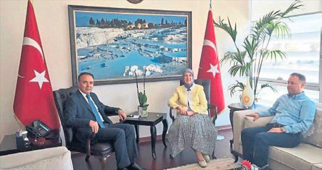 Ramazanoğlu'ndan teşekkür ziyaretleri