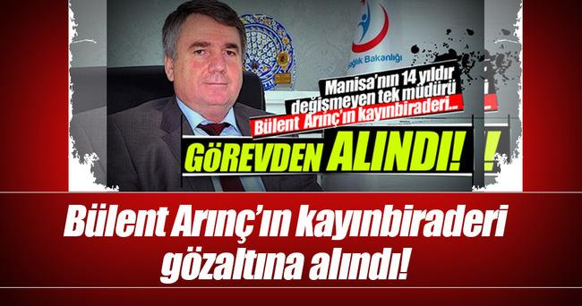 Arınç'ın kayınbiraderi Ziya Tay gözaltında