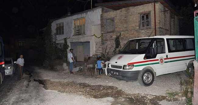 Manavgat'ta şüpheli ölüm