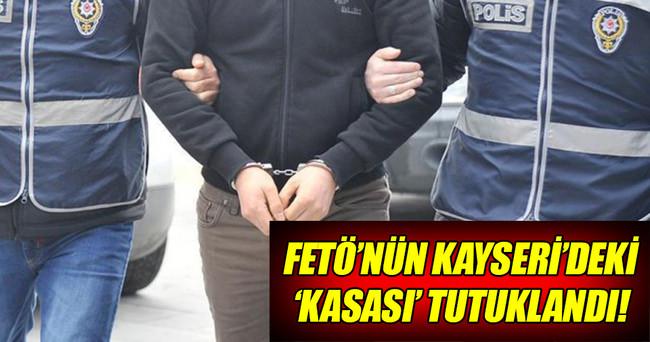 FETÖ'nün Kayseri'deki kasası tutuklandı!