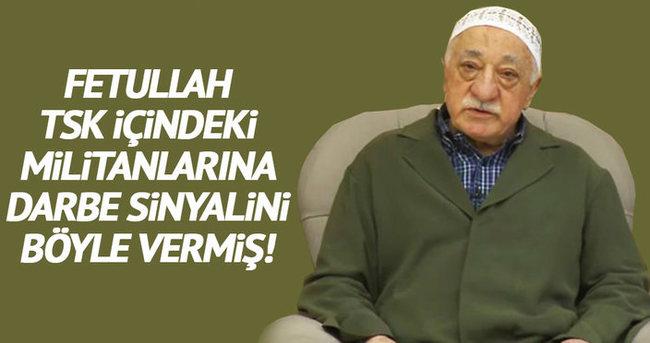 Gülen'in haki cübbesi orduya sinyalmiş