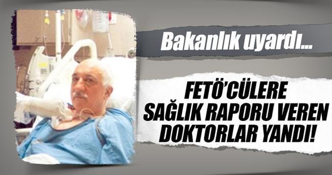FETÖ'cülere sağlık raporu veren doktor yandı