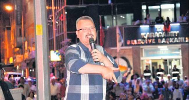 Başkan Özkan: O haini Şeytan Adası'na istiyoruz