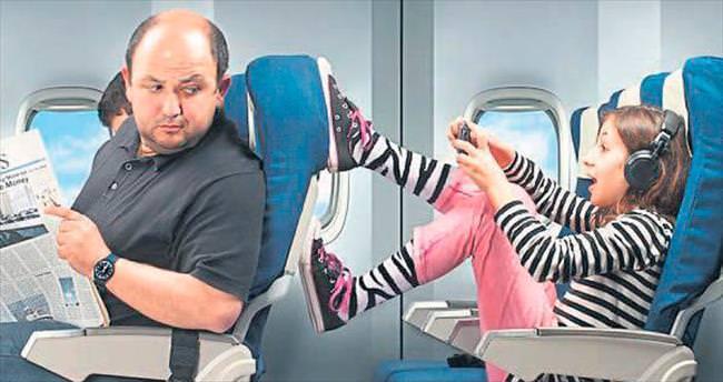 Uçakta çocuk mu var!