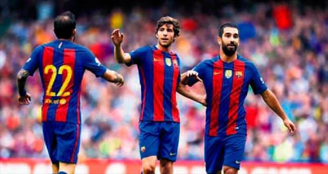 Arda Turan attı Barça kazandı: 3-1