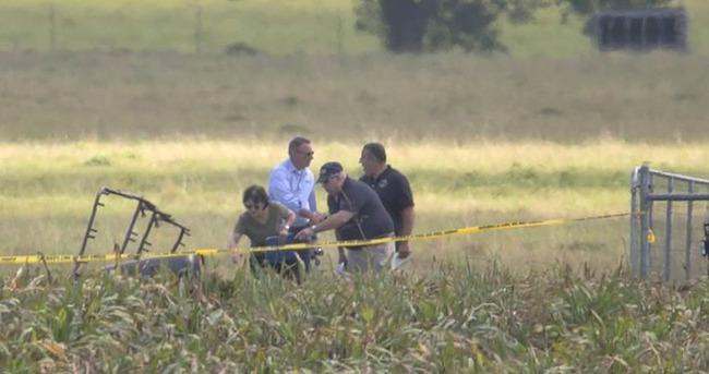 ABD'de düşen sıcak hava balonunda 16 kişi hayatını kaybetti