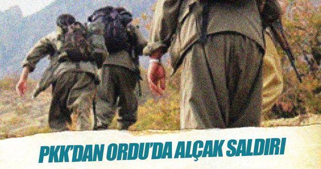 Ordu'da PKK'lı teröristler askere ateş açtı: 3 şehit, 2 yaralı
