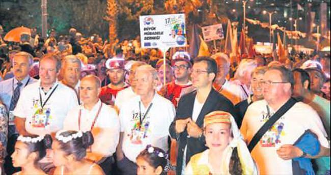 Darbe karşıtları festivalde buluştu