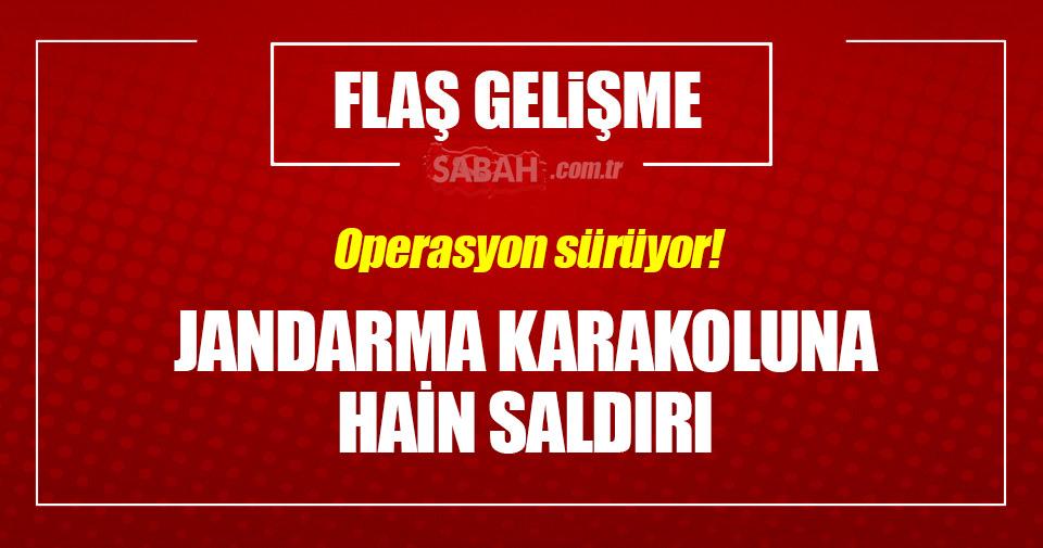 Tunceli'de PKK karakola saldırdı